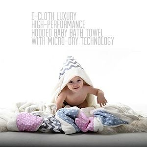 Hooded Baby Bath Towel With Micro-Dry Technology